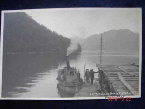 Chile, Lago De Todos Los Santos Año 1927. Antigua Postal.