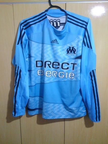 Olympique Marseille França Camisa Manga Longa Xl
