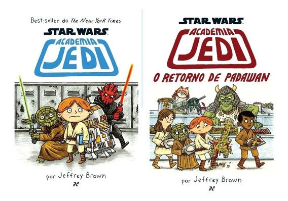 Star Wars: Academia Jedi - Livros 1 E 2 - Jeffrey Brown - Nf