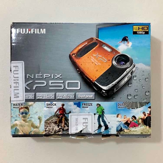 Câmera Digital À Prova Dágua Fujifilm Finepix Xp50 (defeito)