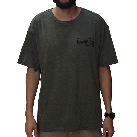 Camiseta Foundation Verde Musgo