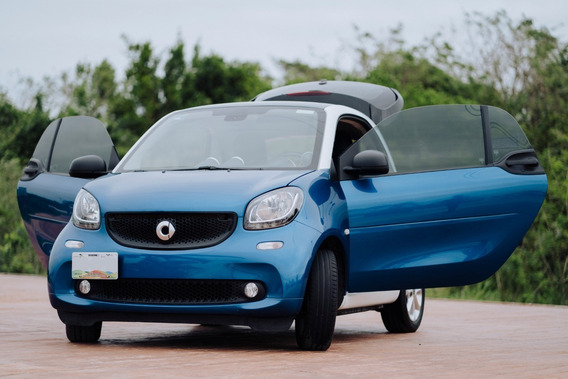 Smart Fortwo 2016 Version Blue Beam Mercedes-benz