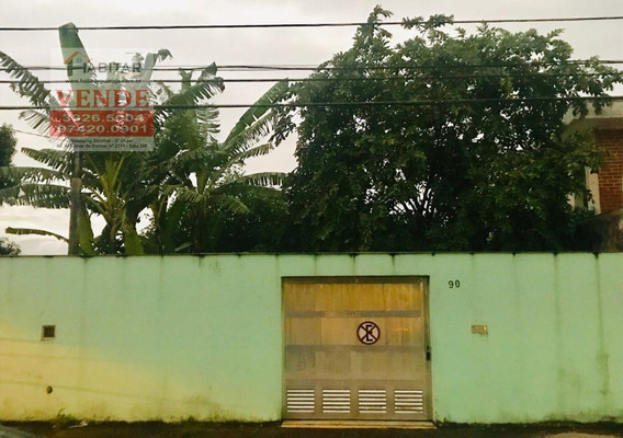 Terreno A Venda No Bairro Vila Santo Antônio Em Guarujá - - 1753-1
