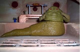 Jabba The Hutt Vintage Figura Star Wars Lili Ledy Halcon
