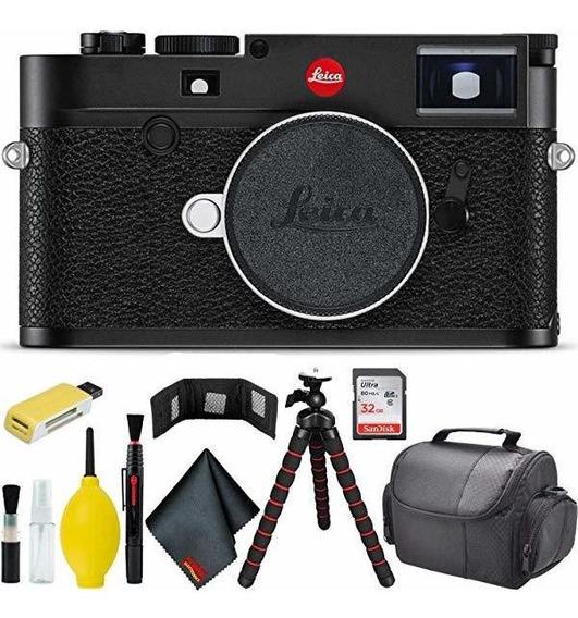 Camara Leica M10 Digital Rangefinder Black Pro Bundle ®