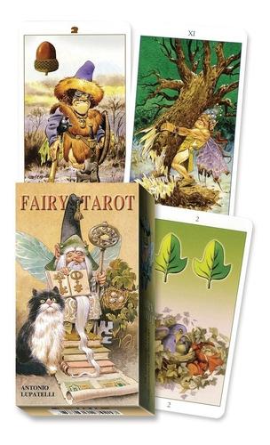 Imagen 1 de 3 de Fairy Tarot Antonio Lupattelli