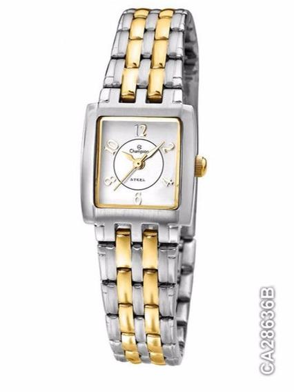 Relógio Feminino Champion Em Aço Misto,