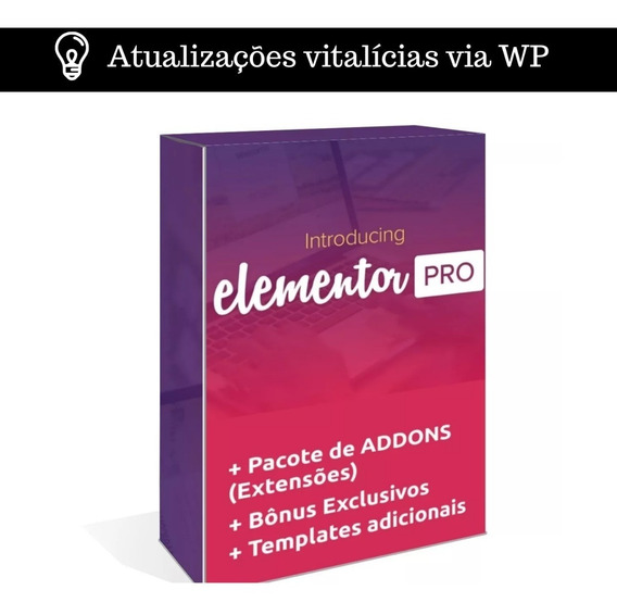 Elementor Pro #2019# + Templates + Ilimitados Sites