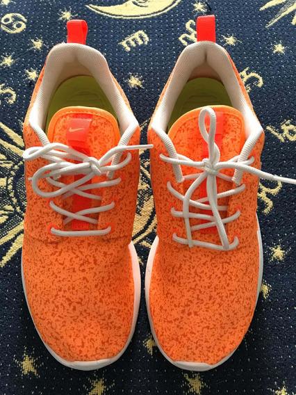 Tênis Nike Tamanho 34/35 Laranja É Original Novo Usado 1 Vez