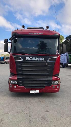 Imagem 1 de 15 de Scania R-440 6x2 Opticruise 14/14 Gustavo-caminhões Top!!!