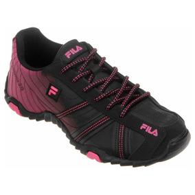 Tênis Fila Slant Summer 2.0 Preto Pink Feminino