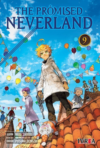 Imagen 1 de 1 de Manga The Promised Neverland Tomo 09 - Argentina