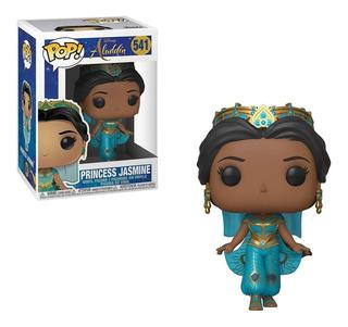 Funko Pop Disney #541 Aladdin Live Princesa Jasmin Nortoys
