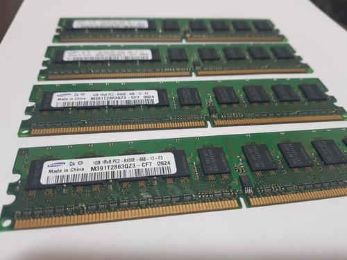 Imagem 1 de 6 de Memória Samsung M391t2863qz3 Cf7 0924 1gb 1rx8 Pc2 6400e