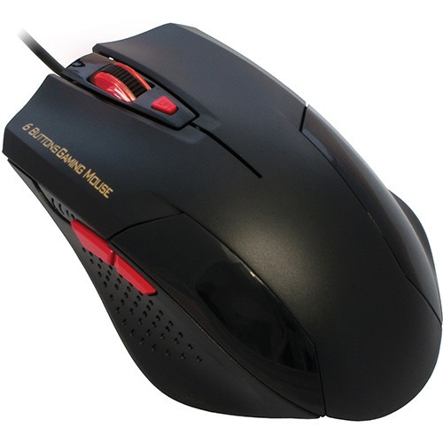 Mouse Optico Gaming Preto Mo-y135 Usb K-mex
