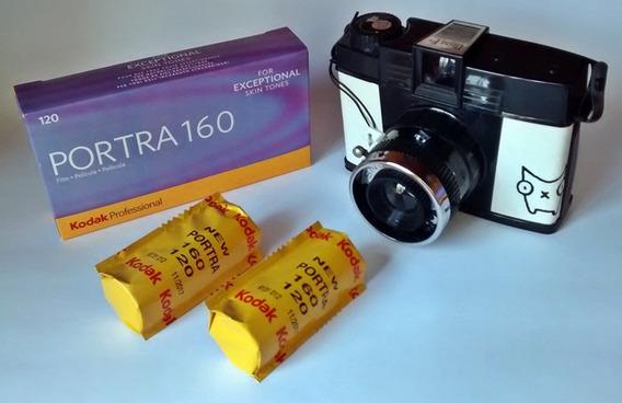 Filme 120mm Kodak Portra Iso 160 Color Diana Holga Lomo