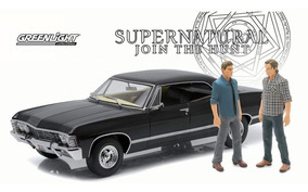 1967 Chevrolet Impala Supernatural C/ Sam & Dean 1/18 #19021