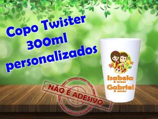 80 Copos Twisters 300ml Sítio Do Pica Pau Amarelo