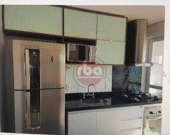 Apartamento No Campolim Varanda Gourmet E Ar Condicionadocom 2 Dormitórios Para Alugar, 68 M² Por R$ 1.800/mês - Parque Campolim - Sorocaba/sp - Ap0858