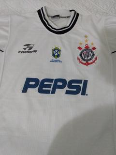 Camisa Corinthians Topper Pepsi Bi Brasileiro 98/99