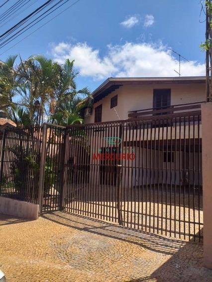 Casa Com 6 Dormitórios Para Alugar, 232 M² Por R$ 3.500/mês - Jardim Panorama - Bauru/sp - Ca3117
