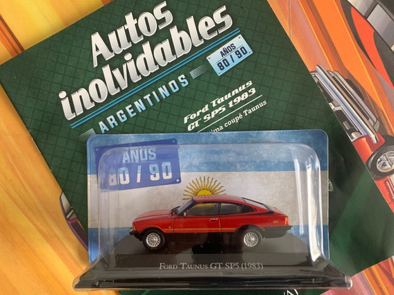 Ford Taunus Gt Sp5 Coupe Miniatura Anos 80 90 1/43 No F-100