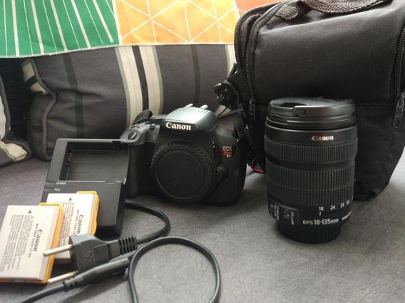 Kit Canon T5i: 1 Lente + 2 Baterias + 1 Bolsa(18.669 Clicks)
