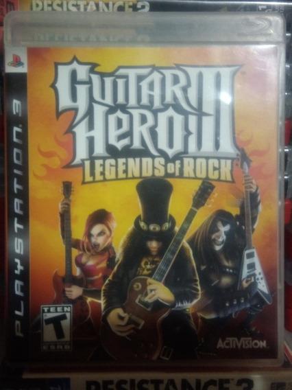 Guitar Hero 3 Ps3 Guitar Hero Iii Playstation 3 Midia Fisica
