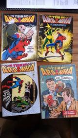 599 Gibis Homem Aranha, Hulk, Capitão America, Etc