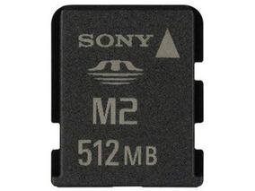 Cartão De Memória Sony M2 512mb A2799