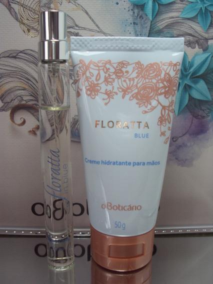 Kit Miniatura Do Perfume Floratta In Blue + Hidratante Para Mãos Floratta In Blue O Boticário O Boticário