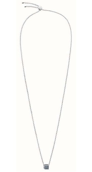 Collar Rocking Acero Cristal Sw Bco Kj9cwn040100