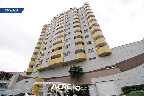 Acrc Imóveis - Apartamento Semi Mobiliado Para Venda No Bairro Vila Nova - Ap03313 - 34895031