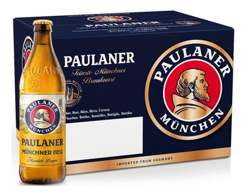 Imagem 1 de 4 de 20x Cerveja Paulaner Munchner Hell 500ml