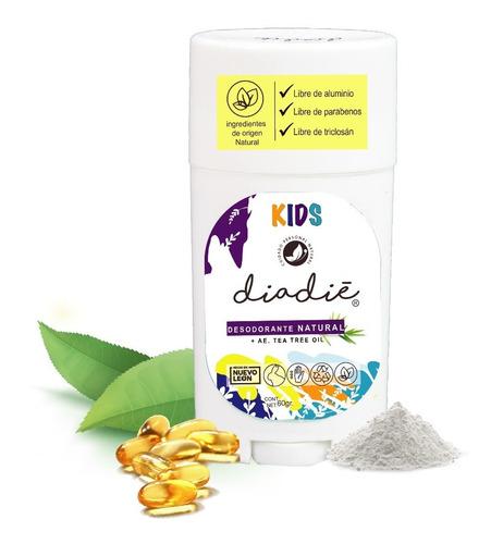 Diadie Desodorante Natural Kids. Infantil, Para Niños Unisex