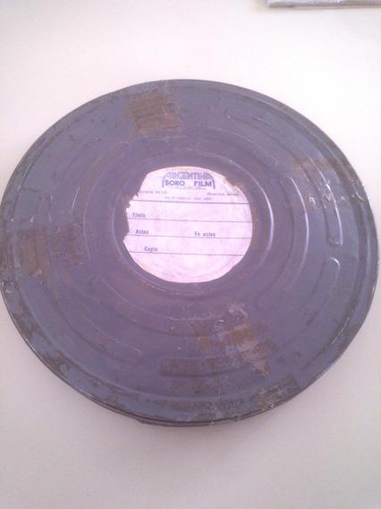 Antigua Lata Cine Argentino Sono Film - Peliculas 35 Mm