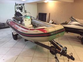 Barco Bote Inflavel Com Motor De 40hp