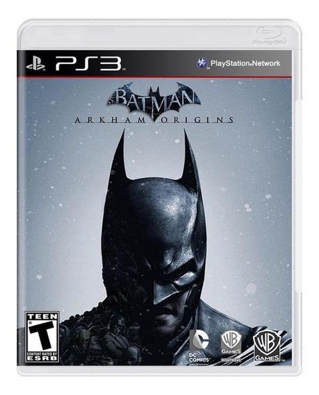 Batman Arkham Origins Ps3 Original Seminovo