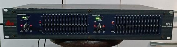Equalizador Importado Dbx 1215 Top Dbx1215 110/220
