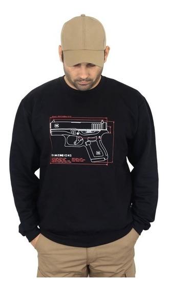 Blusa De Moletom Estampada Glock G43