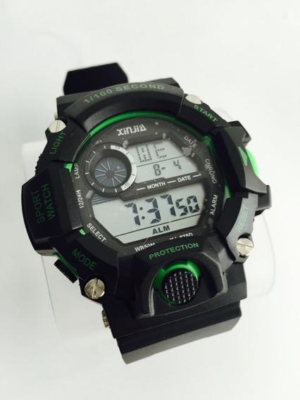 Relógio Masculino Digital Casual Esportivo À Prova D Água Original