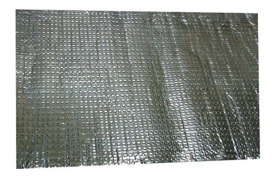 Manta Asfálfica Isolamento Acústico Térmico 4 Folha 40x60 Cm