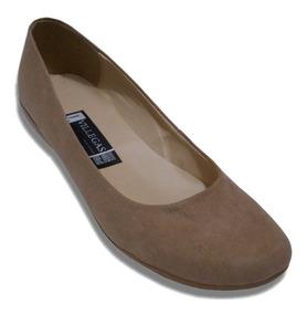 Flat Zapato Liso Escolar Durable Confortable Nujer Niña