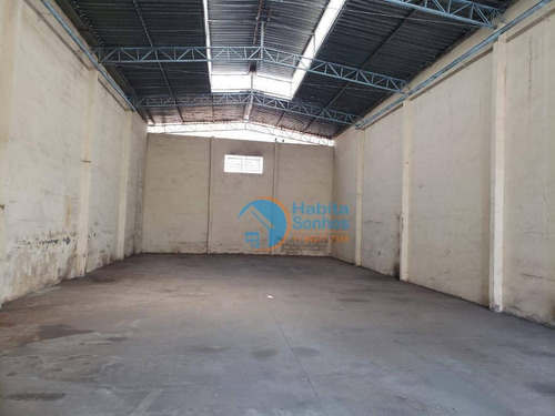 Galpão Para Alugar, 350 M² Por R$ 3.500/mês - Panorama (polvilho) - Cajamar/sp - Ga0014