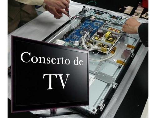 Imagem 1 de 5 de Conserto De Televisão Computador E Micro Ondas Com Garantia