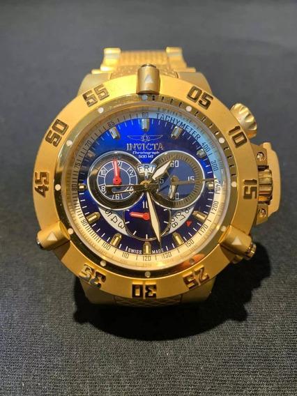 Relógio Invicta Subacqua Noma Iii - Fundo Azul