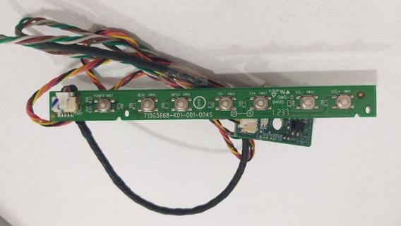 Placa Wifi E Sensor Controle Tv Aoc Le32d0330