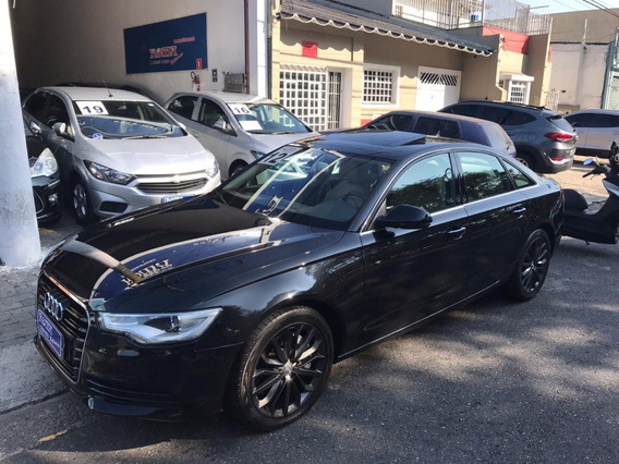 Audi A6 3.0 Tfsi Turbo Completo Couro Caramelo Teto Bx Km