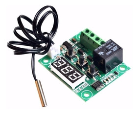Termostato Digital E Controlador De Temperatura W1209
