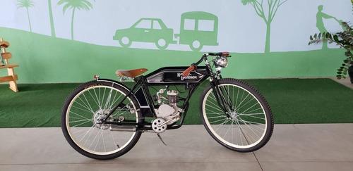 Replica Harley Davidson 1908 Bicicleta Motorizada - Y@w2